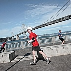 Pushpull excersises and runner, San Francisco ©IL 2012 / photo ID #00127